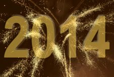 Free New Year Fireworks Royalty Free Stock Photos - 28672748