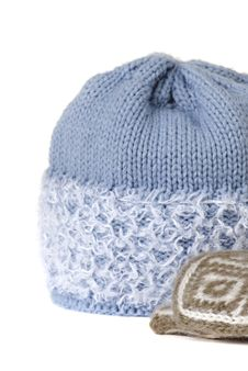 Free Woolen Winter Hat Stock Photography - 28673372