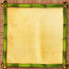 Free Bamboo Shape Stock Photography - 28673952