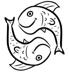 Free Pisces Isolated On White Royalty Free Stock Photo - 28674595
