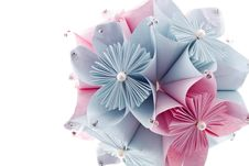 Free Royal Kusudama Royalty Free Stock Image - 28677696
