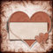 Free Vintage Background With Frame And  Heart Stock Photo - 28678180