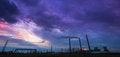 Free Coal Powered Plant And Smoke Stacks Stock Image - 28680601