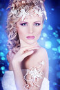 Free Portrait Of A Beautiful Young Bride Royalty Free Stock Image - 28680656