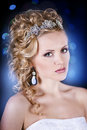 Free Portrait Of A Beautiful Young Bride Royalty Free Stock Images - 28680869