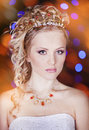 Free Portrait Of A Beautiful Young Bride Stock Images - 28681054