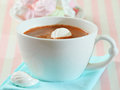 Free Hot Chocolate And Meringue Royalty Free Stock Images - 28681289