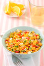 Free Chickpeas Salad Royalty Free Stock Photo - 28681535