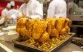 Free Chicken On Restaurant Stock Photography - 28683082