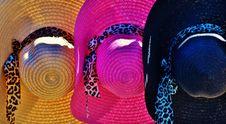 Free Straw Hats Stock Photo - 28680350