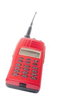 Free Red Radio Communication Royalty Free Stock Image - 28680586