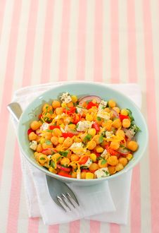 Free Chickpeas Salad Stock Photography - 28681482