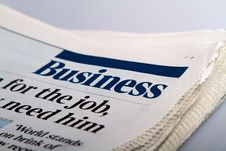 Free News Paper Royalty Free Stock Images - 28681679