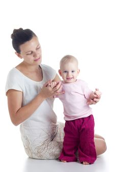 Free Mother And Baby Stock Photos - 28683193