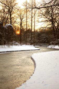 Free Evening Landscape Royalty Free Stock Image - 28683256
