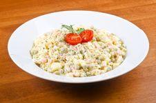 Free Potato Salad 4 Royalty Free Stock Photos - 28683288