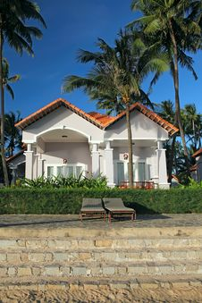Free Houses In Tropical Resort Stock Photos - 28684123