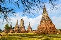 Free Wat Chaiwatthanaram Royalty Free Stock Image - 28691916