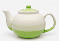 Free Green Teapot  On A White Royalty Free Stock Photos - 28693538