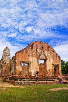 Free Old Budha Temple In Thailand Stock Image - 28690451
