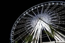 Free Ferris Wheel At Night Stock Photography - 28691882