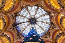 Free Beautiful Dome Gallery Lafayette Royalty Free Stock Photography - 28692847