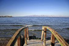 Free Bridge In Dahab, Red Sea Stock Images - 2870064