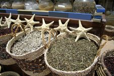 Free Star Fish Herb At Local Market Stock Photos - 2870073