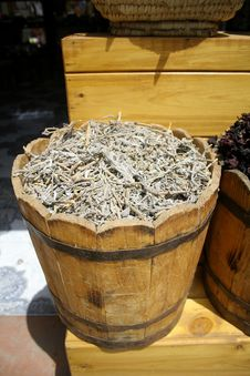 Free Dried Sage At Local Market Royalty Free Stock Photography - 2870147