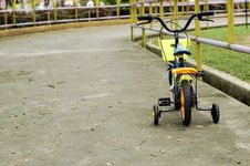 Children S Bicycle Track Royalty Free Stock Photo