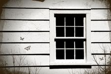 Free Close-up Of An Old Window Royalty Free Stock Image - 2870766