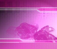 Free Binary Code Texture Stock Photo - 2873280