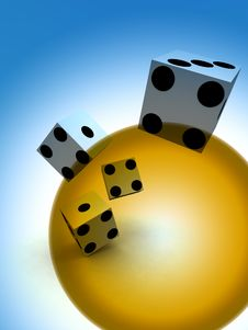 Free Dice 59 Royalty Free Stock Photography - 2873717