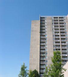 Free Concrete Spokane Condo Royalty Free Stock Photos - 2873808