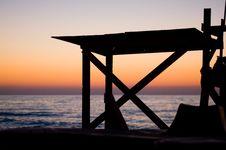 Free Sunrise On The Beach Stock Photo - 2875320