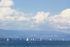 Free Yachting In Geneva Lake Stock Image - 2875871