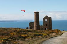 Para Glider And Tin Mine Royalty Free Stock Photos