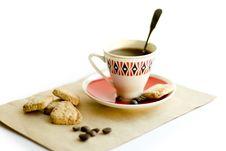 Free Coffee, Cookies Stock Photo - 2879610