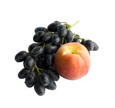 Free Peach And Vine Royalty Free Stock Image - 2879726