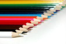 Free Colored Pencils Stock Photo - 2879880