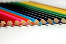 Free Colored Pencils Stock Photos - 2879893