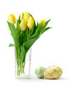 Free Easter Tulips Royalty Free Stock Photo - 28702935