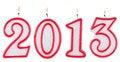 Free 2013 Digits Royalty Free Stock Image - 28704866