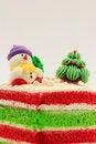 Free Chrismas Cake Stock Photography - 28707062