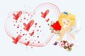 Free Romantic Cupid Royalty Free Stock Photography - 28707227