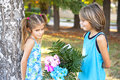 Free First Children Love-St Valentin&x27;s Day Royalty Free Stock Photos - 28708008