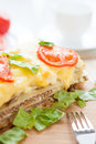Free Lasagna With Vegetables And Grains Royalty Free Stock Images - 28709539