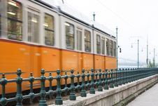 Free Tram In Budapest Stock Photo - 28700690