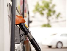 Free Fuel Pump Dispensers Royalty Free Stock Photography - 28706297