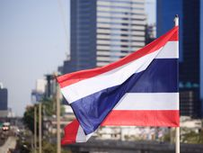 Free National Flag Of Thailand Stock Images - 28706774
